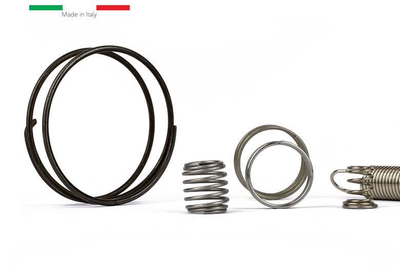 Compression springs, traction and torsion
